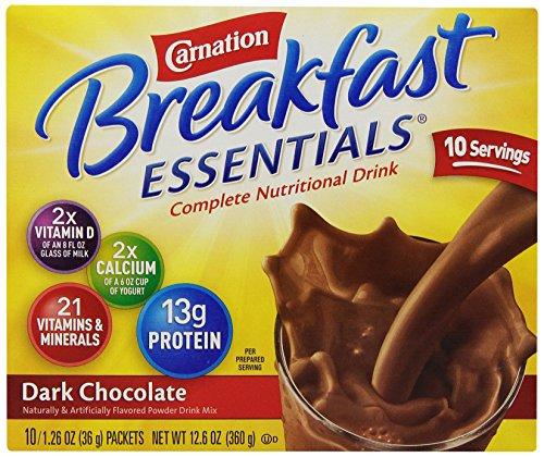 carnation-breakfast-essentials-powder-drink-mix-dark-chocolate-10-count-box-of-126-oz-packets-6-pack
