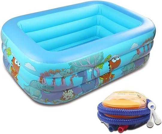 ZYHBJH Piscina Doméstica Gruesa de Bolas Gruesas Resistente Al Desgaste para Bebés, Piscinas Inflables para Niños Piscina Hinchable Infantil,Blue1.3: Amazon.es: Hogar
