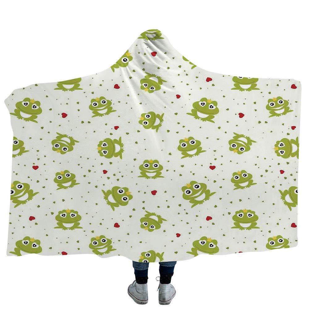 ISMYPRINT 大人用 毛布 バタフライ プラッシュ ウェアラブル フード付き ブランケット 多数のスタイル 蝶 モノクロ ヴィンテージ インスピレーション フライングアニマル (大人用60インチ×80インチ) Hooded Blanket 50