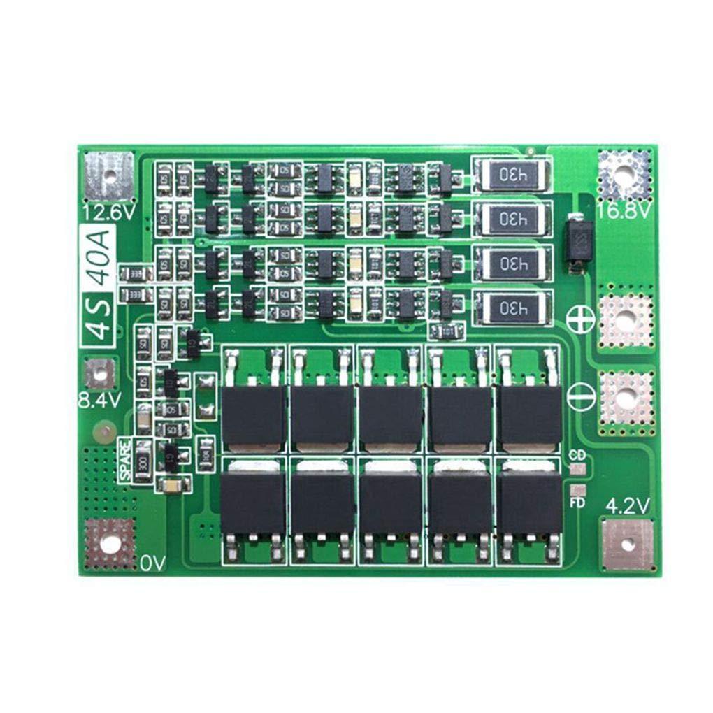 Morza 40A Li-ION Batterie au Lithium 18650 Protection Board PCB BMS Drill Motor 14.8V 16.8V Lipo Module cellulaire