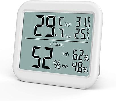 Thermometer/_Digital Großer LCD Temperatur Hygrometer Termometer Luftfeuchtigkeit
