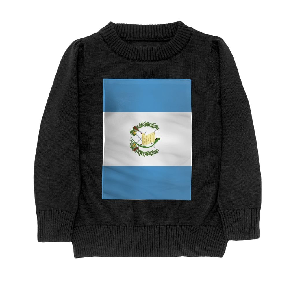 DTMN7 Flag of Guatemala Teens Sweater Long Sleeves Crew-Neck Youth Athletic Casual Tee Junior Boys