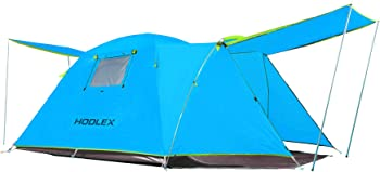 Hodlex Porch Double Layer 4 Person Camping Tent