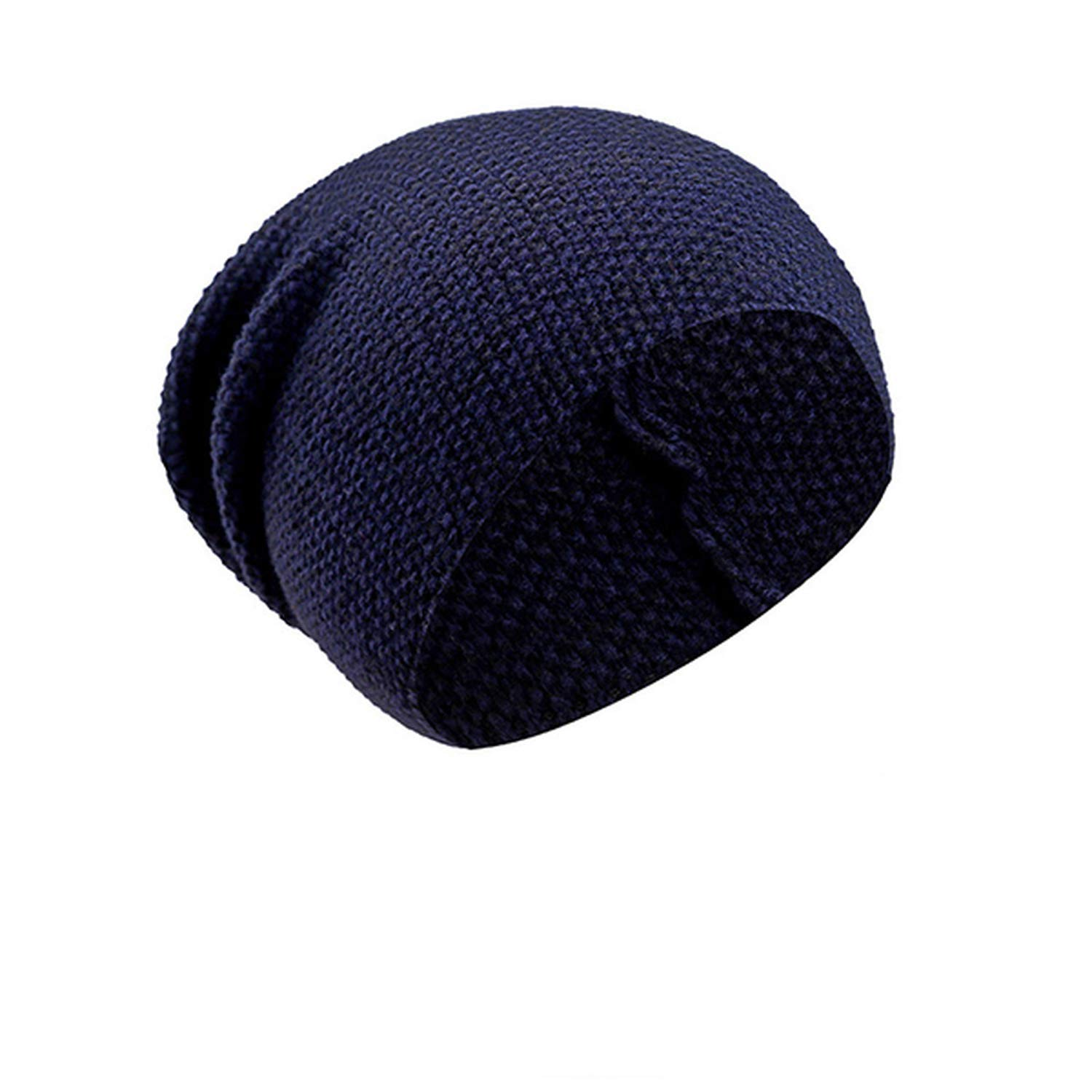 Ron Kite Knitted Hat Female Outdoor Casual Plain Bonnet Autumn Slouchy Baggy Beanies for Men Winter Cap Womens