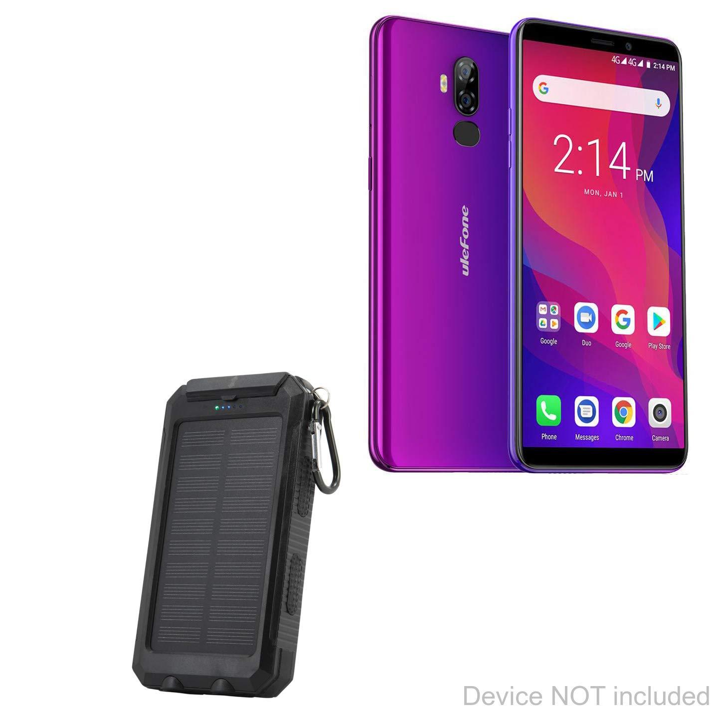 BoxWave Ulefone Power - Batería de 3 L (energía Solar Rejuva ...