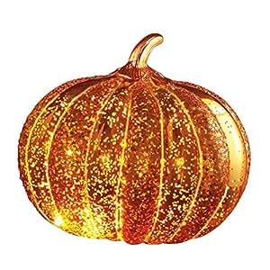 LED Light Up Decorative Pumpkin