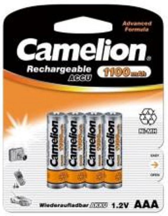 Akku kompatibel Schnurlos Telefon KX-TG7120 TG7122 TG7123 Batterie DECT AAA