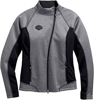 HARLEY-DAVIDSON Womens Miss Enthusiast B&S Mock Neck Fleece ...