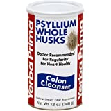 Yerba Prima Psyllium Whole Husks Colon Cleanser, 1 Count (12 oz.)