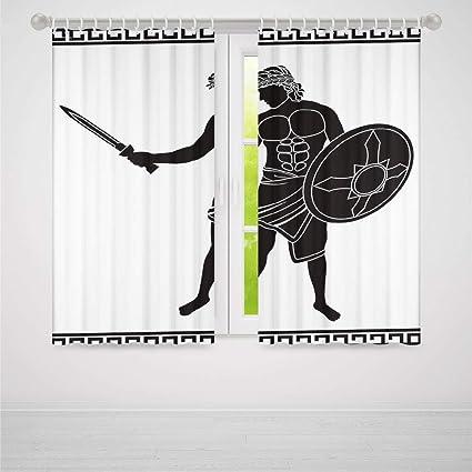 Amazon.com: YOLIYANA Toga Party Blackout Curtains,Ancient ...