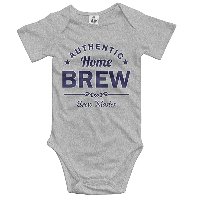 abca87aac Amazon.com: Unisex Fashion Home Brewed Short Sleeve Baby Bodysuits 100%  Cotton Baby Outfits Size: Clothing