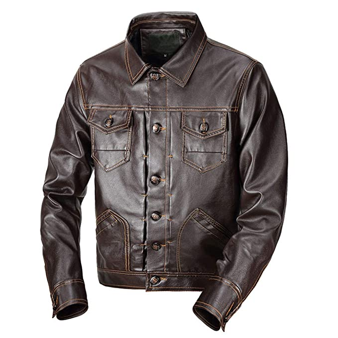 Amazon.com: Clearance Sale for Coat.AIMTOPPY Mens Autumn and Winter Lapels Warm Jacket Long-Sleeved Leather Jacket: Computers & Accessories