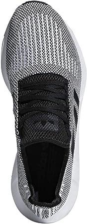 adidas Originals Men's Swift Running Shoes (8 D(M) US, Black/Black/White)