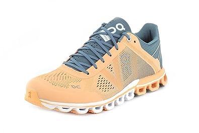 On Running Womens Cloudflow Almond/Grey Running Shoe - 6