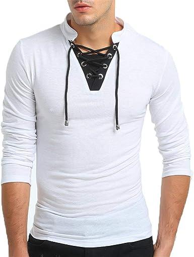 Camisa De Manga Larga para Hombre De Estilo Único Tamaños ...