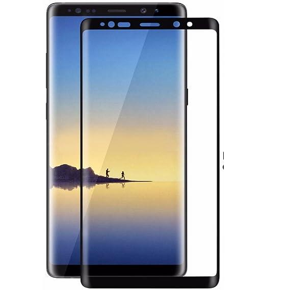 Samsung Galaxy Note 8, Tempered Glass Shatterproof Anti-Scratch Waterproof Fingerprint Proof Screen Protector