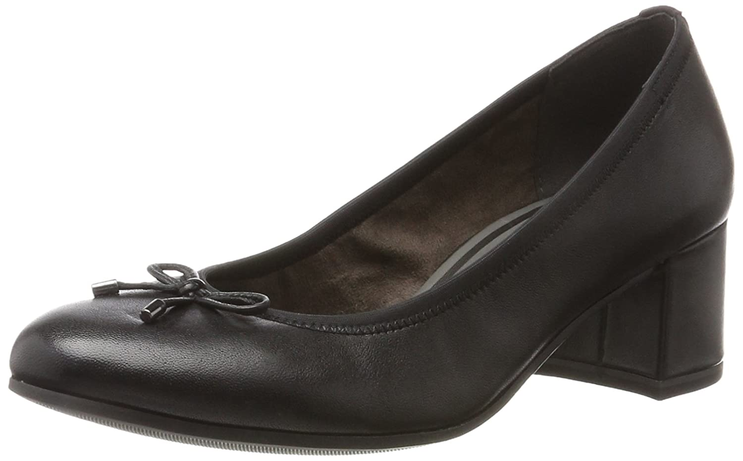 Schwarz(schwarz Leather) Tamaris 22305 Damen Pumps