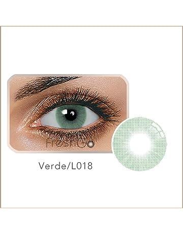 70dcb7fd66 Ncient Lentillas Colores 1 año Suave, Lentes de Contacto Cosplay Ojos  Maquillaje