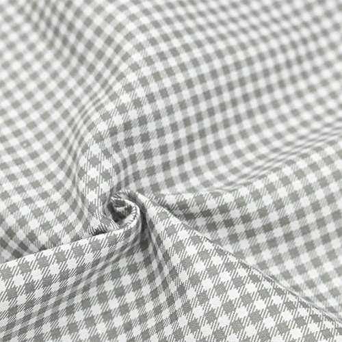 Hanjunzhao Quilting Fabric,Grey Fat Quarters Fabric Bundles,100% Cotton Fabric for Sewing Crafting,Print Floral Striped Polka Dot Gingham Fabric,18'' x 22''(Grey) by Hanjunzhao (Image #7)