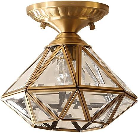 Jydqm Lighting Vintage Glass Rustic Wire Ceiling Pendant Light Antique Copper Amazon Co Uk Kitchen Home