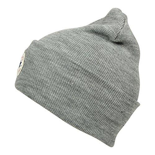 Talla Unisex Tall Navy Athletic gris 41588HAT Beanie Knit Converse Adulto Cuff única UBqIazxz