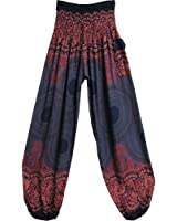 Indian Bohemian Gypsy Mandala Print Yoga Meditation Harem Pants THNONA 7