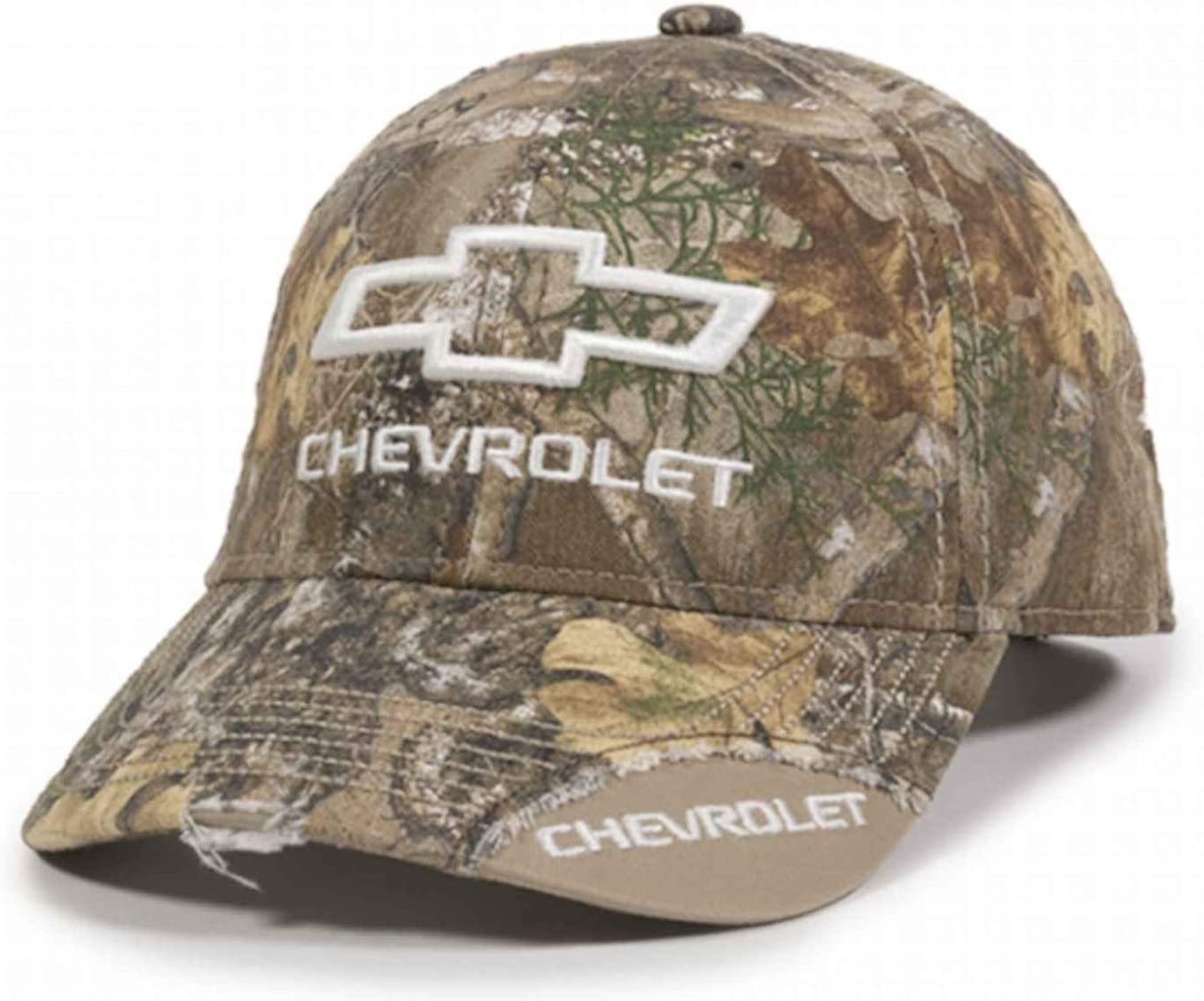 NEW Chevrolet  Chevy Camo Realtree Mens Adjustable Cap Hat