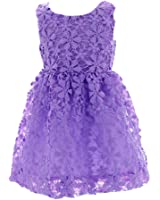 MingAo Kids Toddler Litter Girls' Pure Lace Princess Dress Skirt