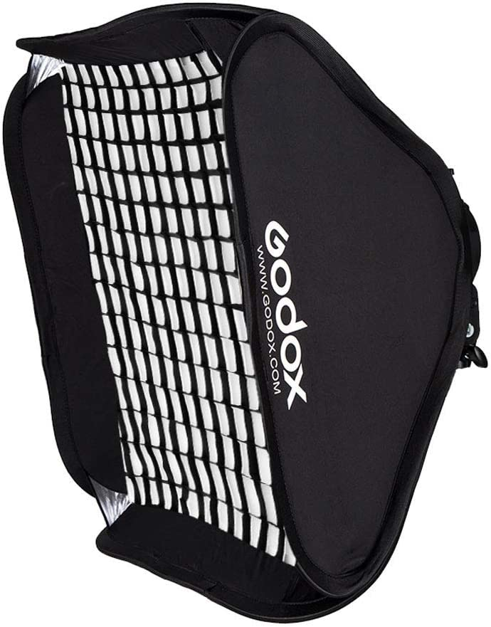 Honeycomb Grid for S Flash Speedlighttudio Strobe Photo Godox Softbox 24x24inch// 60x60cm Portable Rectangular Softbox Reflector Bowens Mount with Softbox Bag