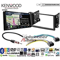 Volunteer Audio Kenwood Excelon DNX994S Double Din Radio Install Kit with GPS Navigation Apple CarPlay Android Auto Fits 2007-2011 Chevrolet Aveo