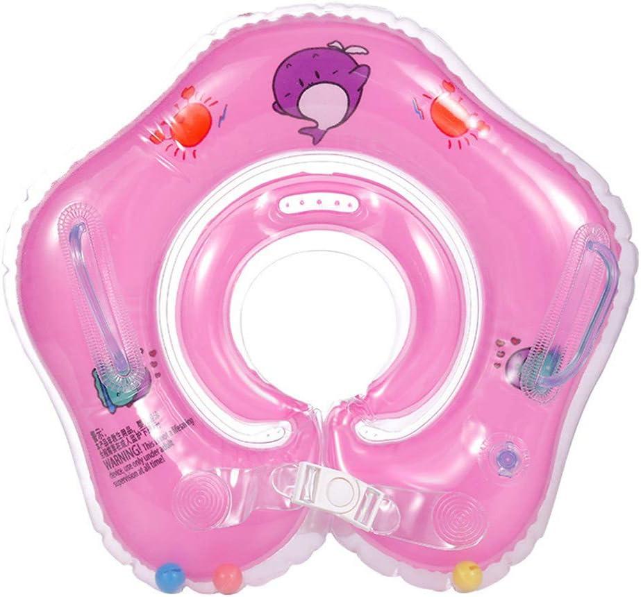 0-3 Ans B/éb/é Natation Anneau Neck Tube Ring Safety Infant Neck Float Circle pour b/éb/é Piscine Bain Gonflable
