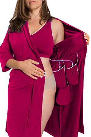 Brobe, Recovery Robe for Breast Cancer, Surgery Recovery