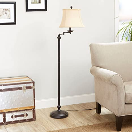 Elegant Better Homes And Gardens Floor Lamp With Swing Arm