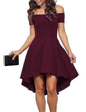 Small-Shop-UK - Falda Plisada de algodón para Mujer (Cintura Alta ...
