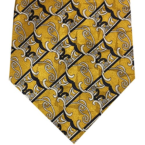 Classy and Traditional Neckties, Formal Men's Silk Fine Microfiber Ties (Dinner At (Male Gatsby Attire)