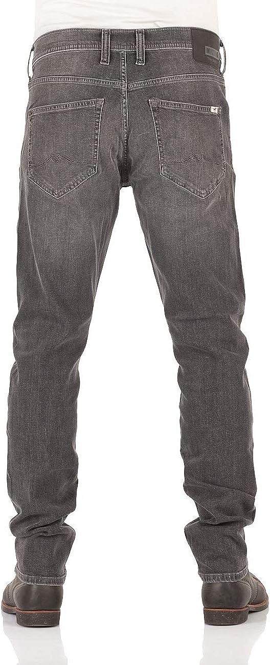 MUSTANG Oregon W30 - W40 - Vaqueros para hombre, corte cónico, 99% algodón, color azul, gris y negro