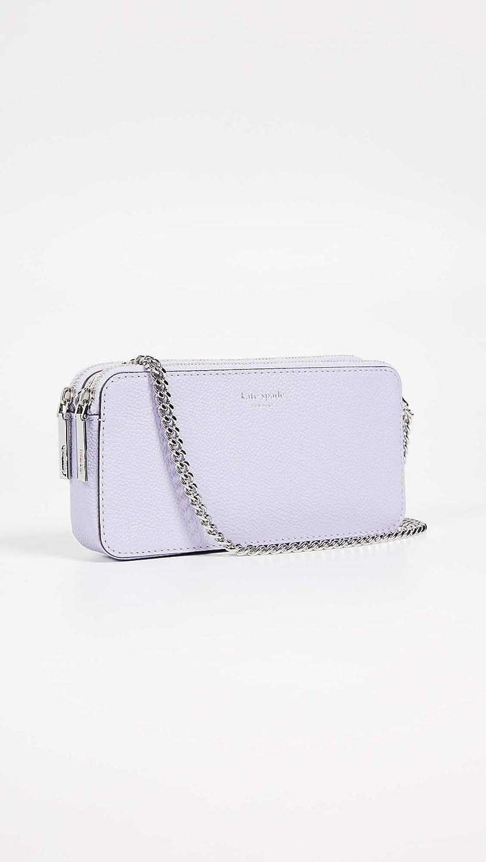 d21461d43 Amazon.com: Kate Spade New York Women's Margaux Mini Crossbody, Frozen  Lilac, Purple, One Size: Shoes
