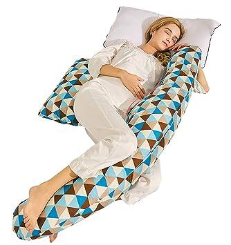RZ Cojin Lactancia Bebe & Almohada Embarazo Dormir U para ...