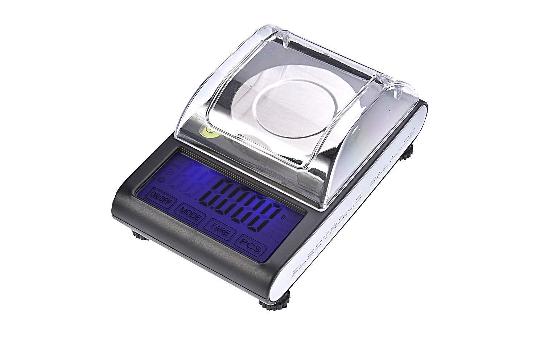 Quantum Abacus X-Precise 1MG: Balance digital de précision/pèse-lettre/microbalance / trébuchet/balance de poche, résolution extrêmement précise de 50gr / 0,001gr, Mod. BCOLA-50g0.001