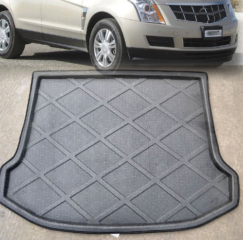 aegarage86® Auto Accessories Rear Trunk Tray Boot Liner Cargo Floor Mat Cover Protector Carpet Fit For Aftermarket Car CADILLAC SRX 2010 2011 2012 2013