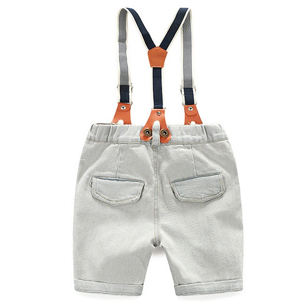 LJYH Baby Gentleman 2 Pieces Clothing Set Boys Shorts Set