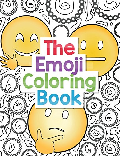 Pdf Crafts The Emoji Coloring Book: 30 Large Coloring Pages of Cute, Funny and Awesome Emoji Designs with Smiley Faces