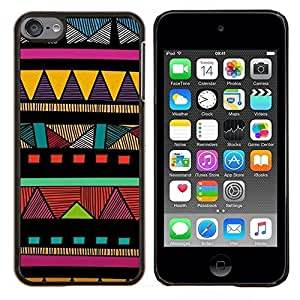 Stuss Case / Funda Carcasa protectora - Motif coloré américaine - Apple iPod Touch 6 6th Touch6