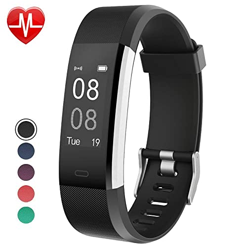 Willful Fitness Tracker with Heart Rate Monitor, Fitness Watch Activity Tracker IP67 Waterproof Slim Smart