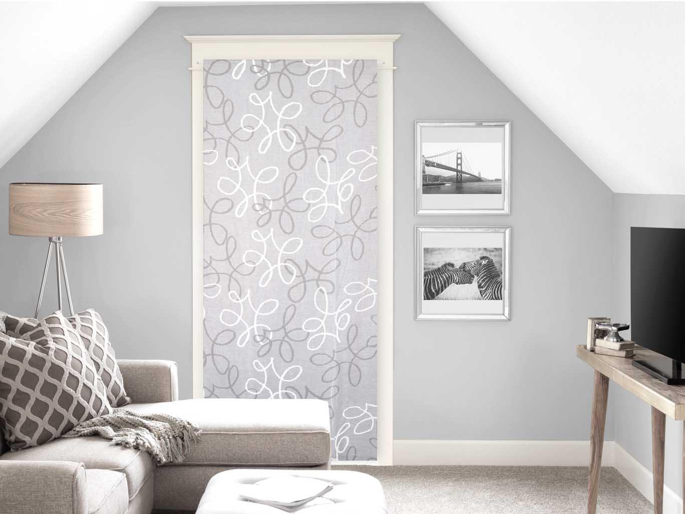 Soleil d'Ocre Brise bise 90x200 Manon, Polyester, Blanc, 90x200 cm Selartex 049027