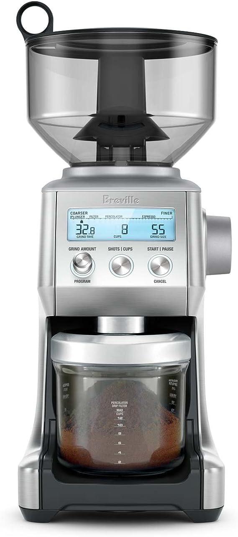 Breville BES500BSS The Bambino Plus - Máquina de café espresso con molinillo inteligente Breville BCG820BSS Pro (acero inoxidable): Amazon.es: Hogar