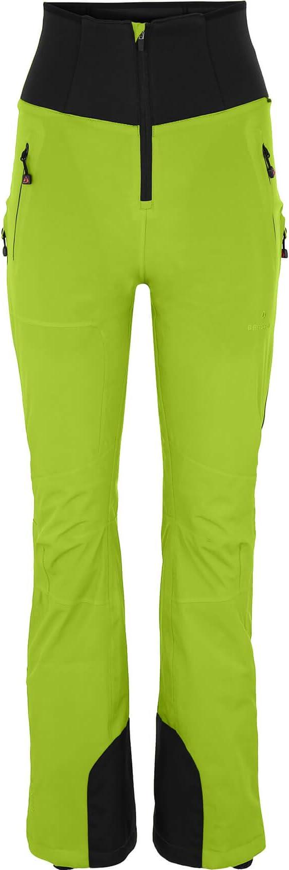 Damen 242 Lime Green Bergson Damen Skihose Ice Light 34 Slim fit