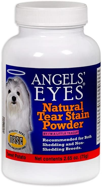 Angels Eyes Tear Stain Remover Natural Sweet Potato Flavor (2.65 oz) - 75 Grams