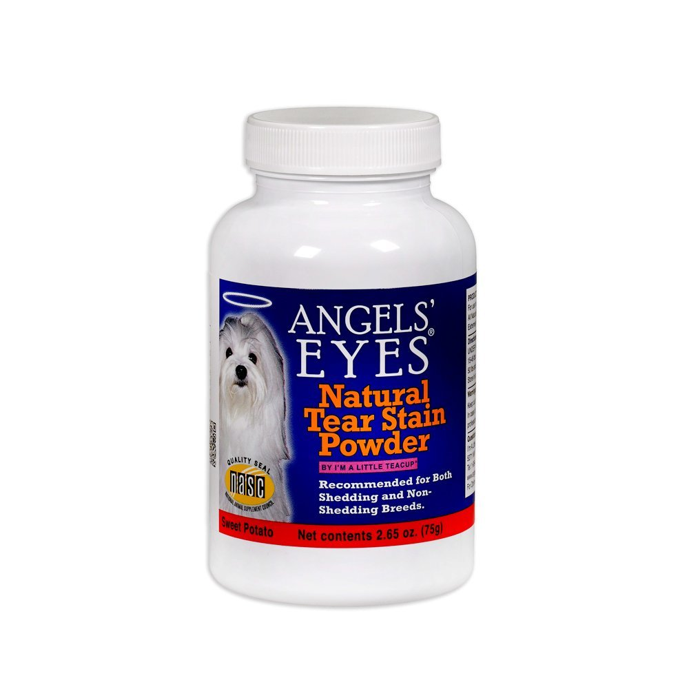 Angels Eyes Tear Stain Remover Natural Sweet Potato Flavor (2.65 oz) - 75 grams by ANGELS' EYES