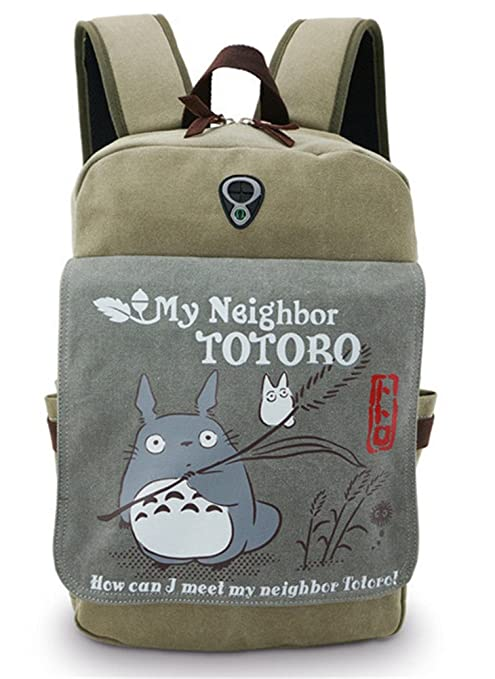 Gumstyle My Neighbor Totoro Anime Cosplay Canvas Backpack Rucksack Shoulder  Laptop School Bag for Boys Girls 14c0e6bcbc